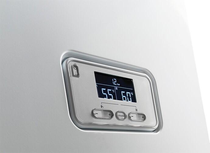 Стаціонарний конденсаційний газовий котел ВЕДМІДЬ Конденс (панель)