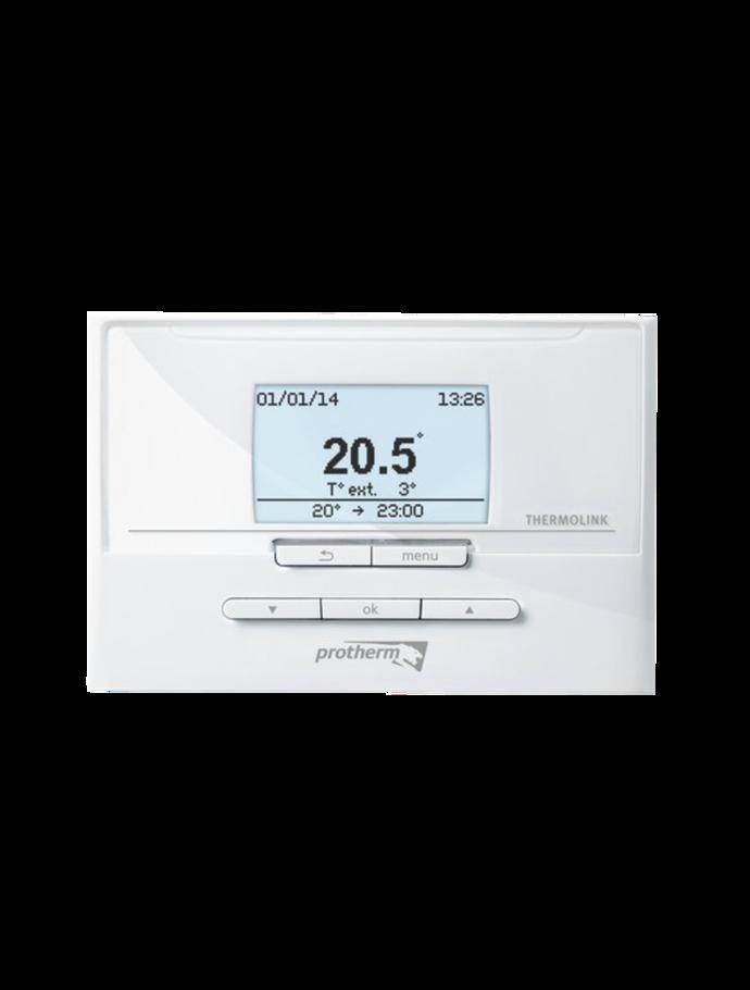 Кімнатний регулятор температури з комунікаційною шиною eBus THERMOLINK P